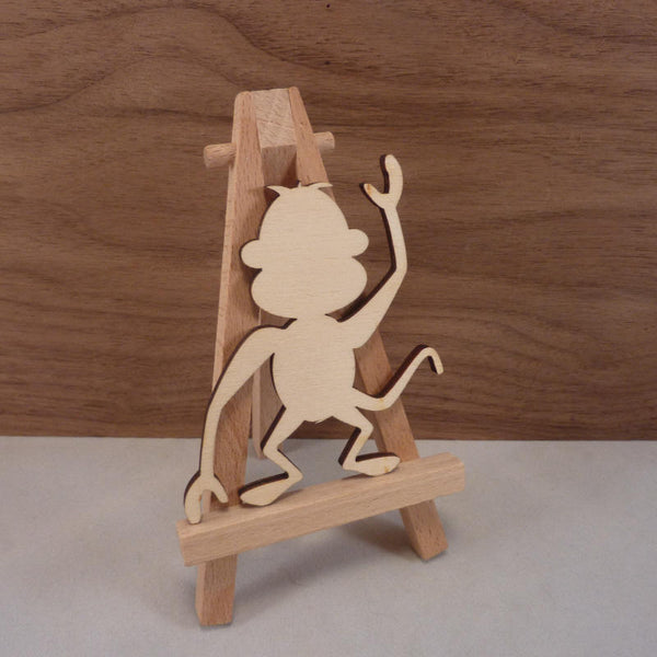 4 mm Plywood Monkey Blanks - 8 cm