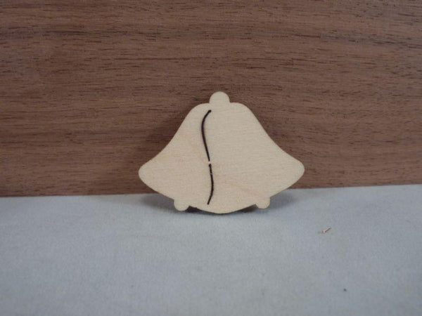 4 mm Plywood double bell shapes without hanging hole