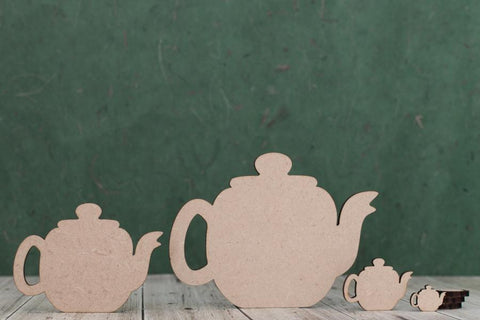 3mm MDF Teapot Shape