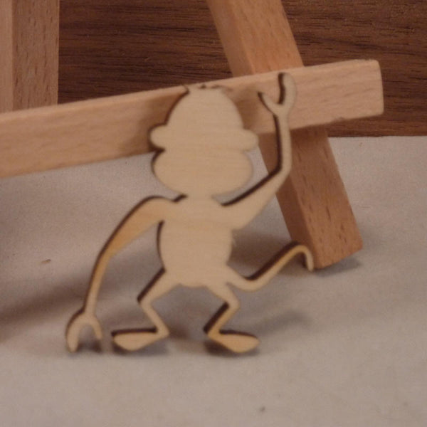 4 mm Plywood Monkey Blanks - 3.5 cm