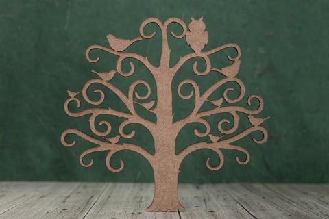 2mm MDF Family Tree