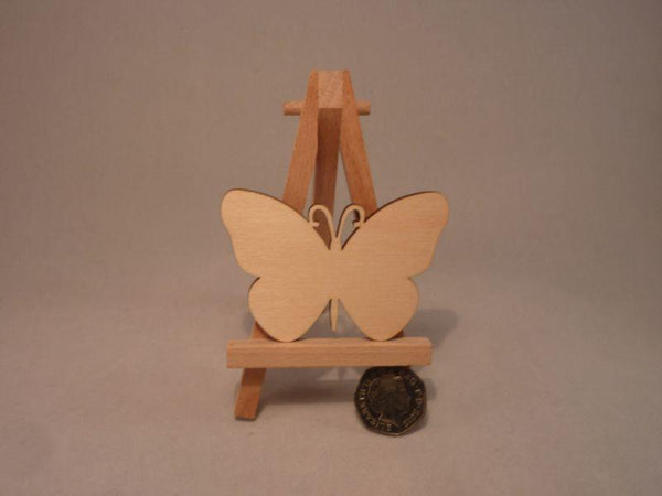 4 mm Plywood Butterfly Blank - 8 cm