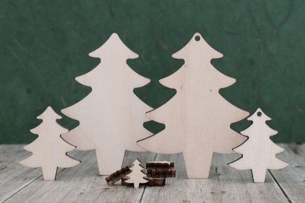 Plywood Christmas Trees