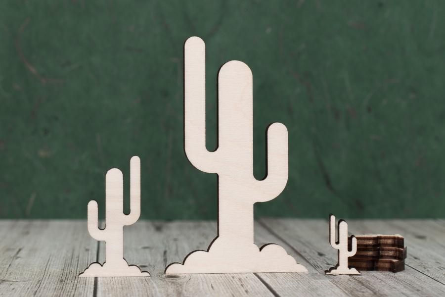 4 mm Plywood Cactus shapes