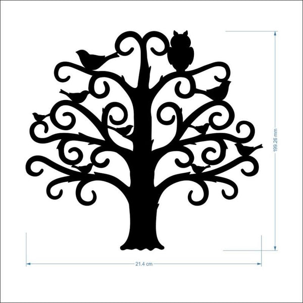 2mm MDF Family Tree - 20 cm