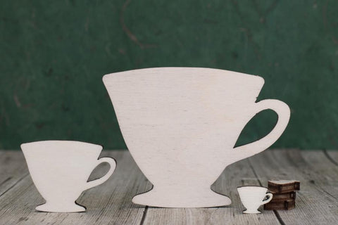 Plywood Tea Cup Shape