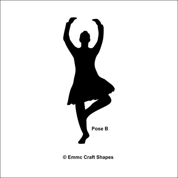 Plywood Highland Dancers - Pose A
