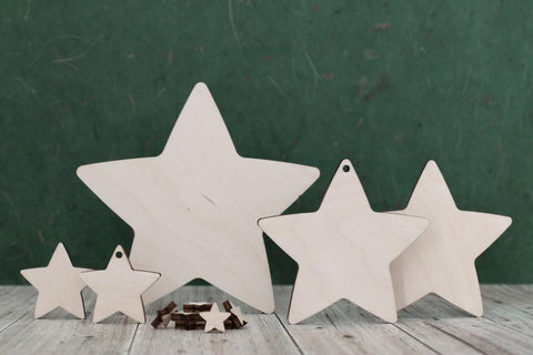 Plywood Star Shapes