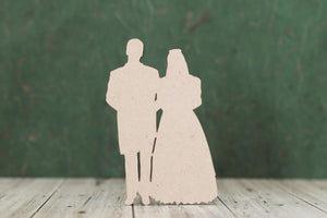MDF Bride and Groom