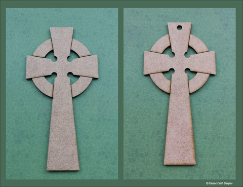 Celtic Cross Blanks - 2mm MDF