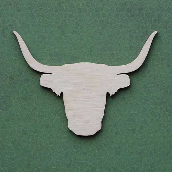 highland cow blank cut from 4mm birch plywood