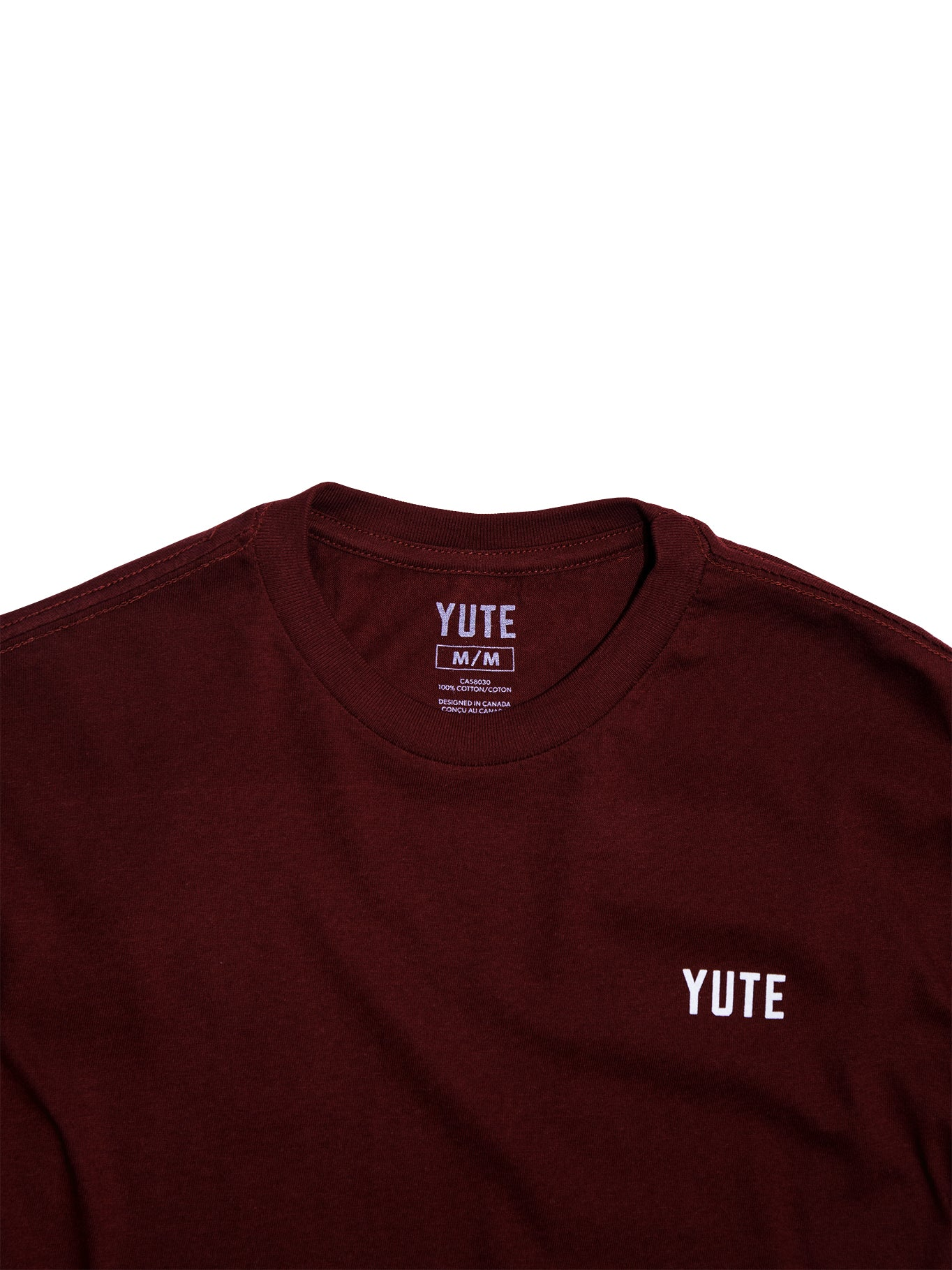 Be A Good Yute — Burgundy