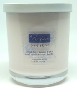 Luxury Soy Candles - Medium & Large Respire:breathe