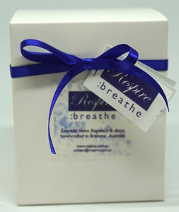 Luxury Soy Candles - Medium & Large Gift Boxed Respire:breathe