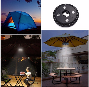 Cordless Patio Umbrella Portable