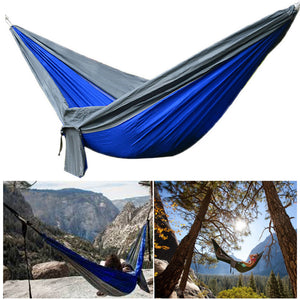 IPRee® Upgraded Type 270x140CM Double Hammock 210T Nylon Swing Bed Max Load 250kg