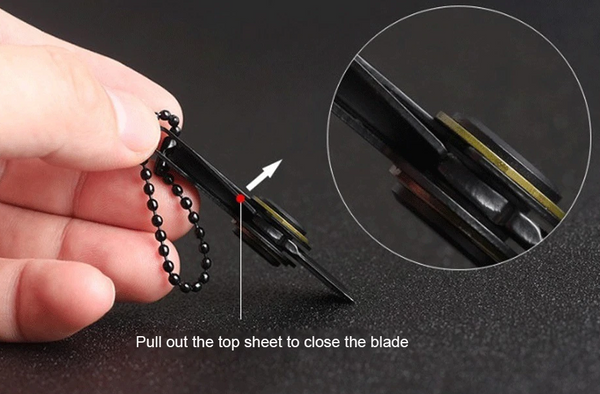 Mini Foldable Knife with Key Ring