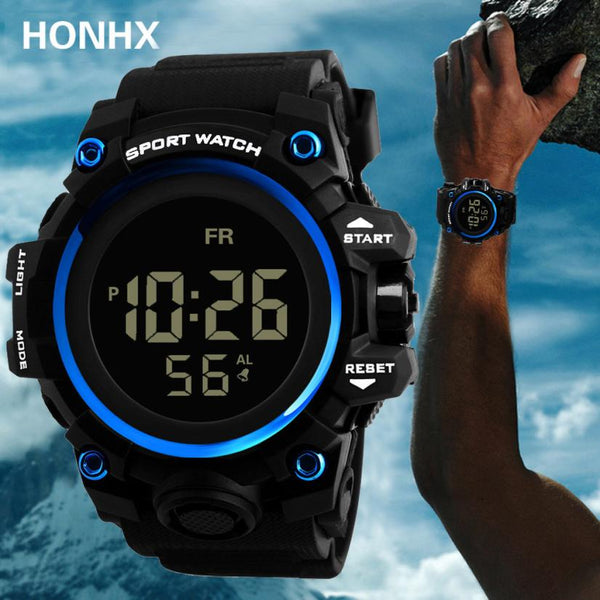 Men Analog Digital Military Army Sport LED Waterproof Wrist Watch 2019 NEW watch men sport waterproof relogio masculino