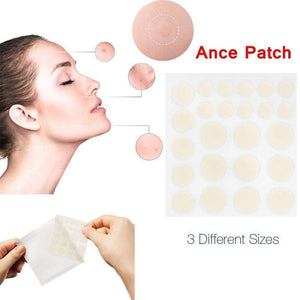 24pcs Hydrocolloid Acne Invisible Pimple Master Patch Skin Tag Removal Patch Pimple Blackhead Blemish Removers Facial Care Tool