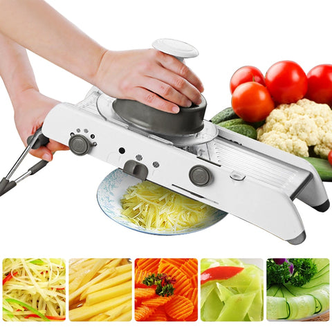 Mandoline Slicer Manual Vegetable Cutter Professional Grater With Adjustable 304 Stainless Steel Blades Vegetable Kitchen Tool