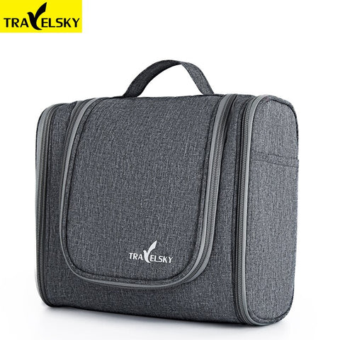Travelsky Hot travel organizer bag unisex women cosmetic bag hanging travel makeup bags washing toiletry kits storage bags men