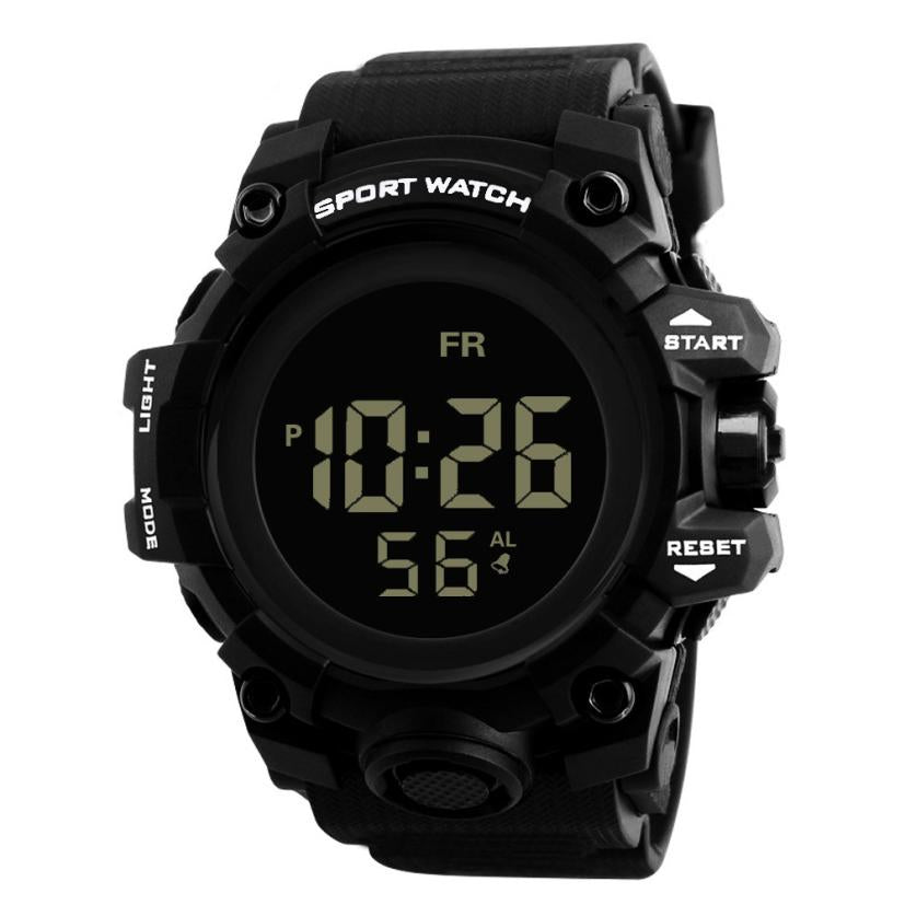 Digital Army Sport Waterproof Watch For Men