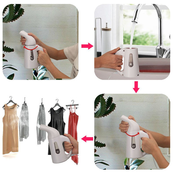 Portable Clothes Steamer Handheld Iron for Home Vertical Garment Steamers Steam Machine Ironing for Home Appliances 110V 220V