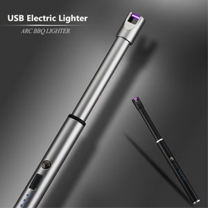 New Arc Pulse BBQ Lighter USB Electronic Lighter Women Kitchen Gadgets Portable Functional Candle Lighter Cigarette Smoking Tool