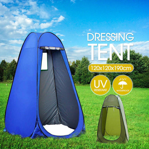 New Portable Pop Up Outdoor Camping Shower Tent Toilet CarryBag