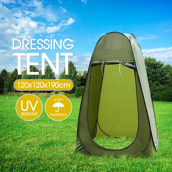 Pop Up Shower & Toilet Tent