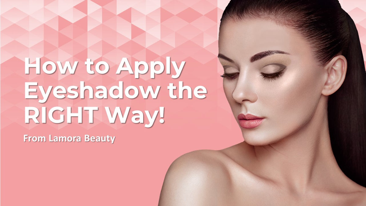 "How to Apply Eyeshadow: ""The Basics"" Tutorial from Lamora Beauty"