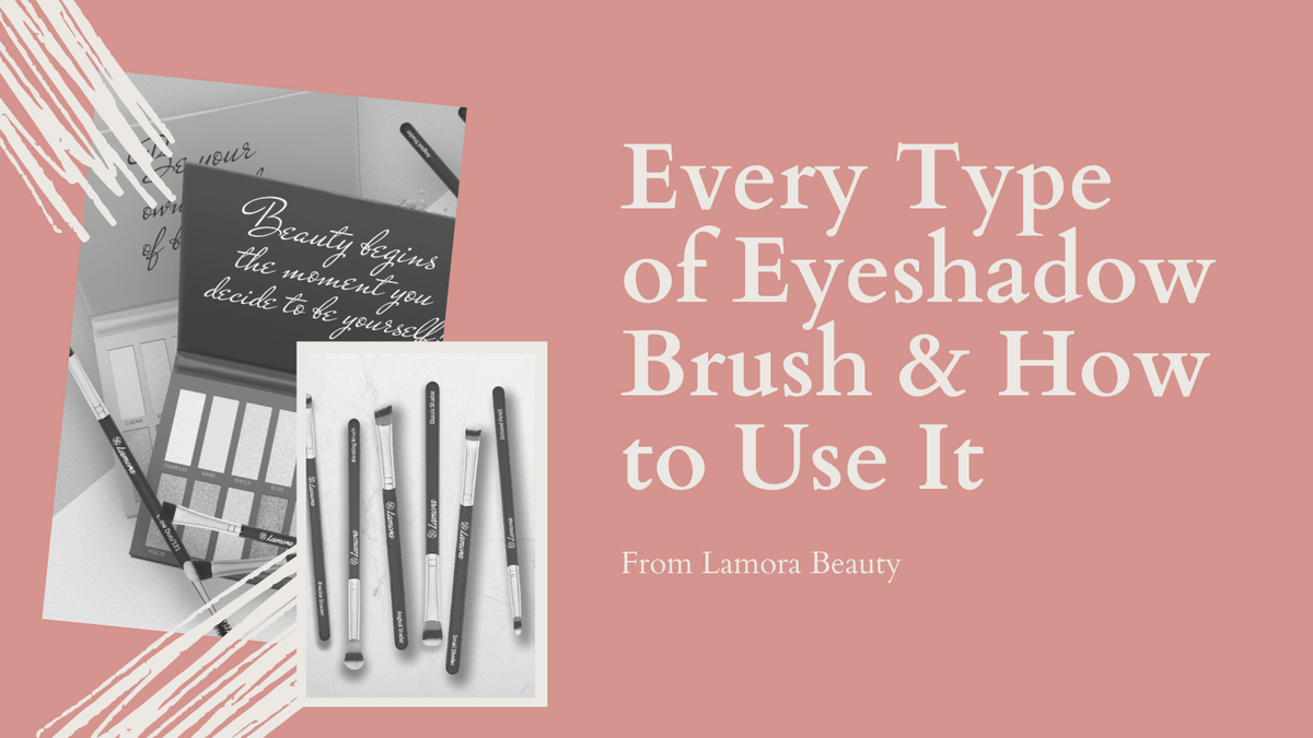 Every Type of Eyeshadow Brush & How to Use It