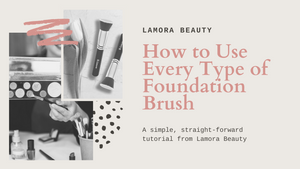 How to Use Every Type of Foundation Brush