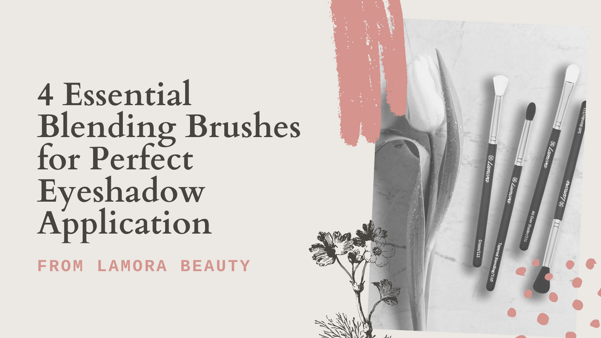 4 Essential Blending Brushes for Perfect Eyeshadow Application