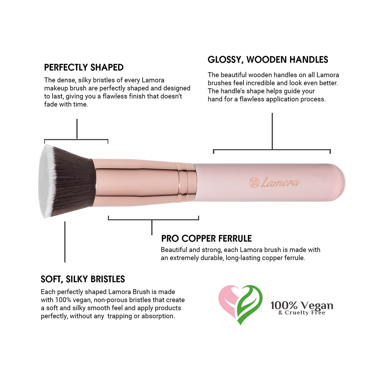 Important features of a quality foundation brush