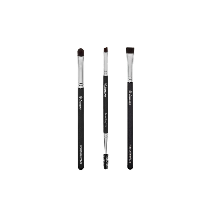 3pc Eyebrow Brush Set from Lamora Beauty