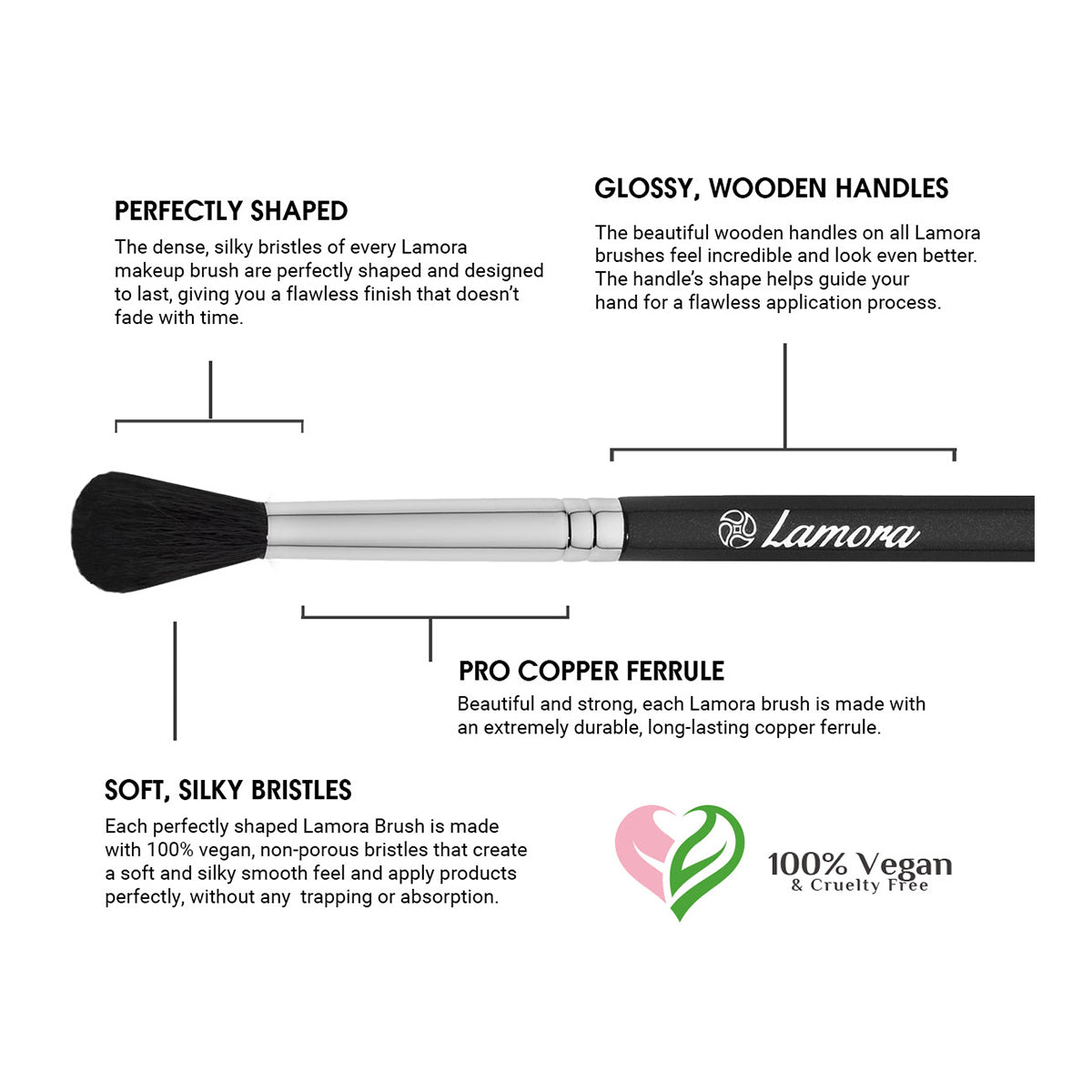 Important features of a quality makeup brush for blending eye makeup
