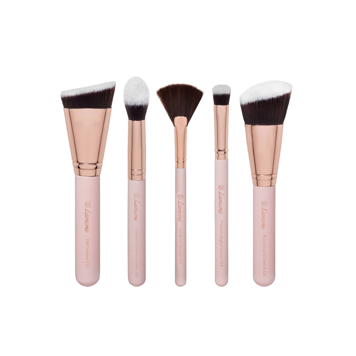 5pc Contouring Brush Set from Lamora Beauty