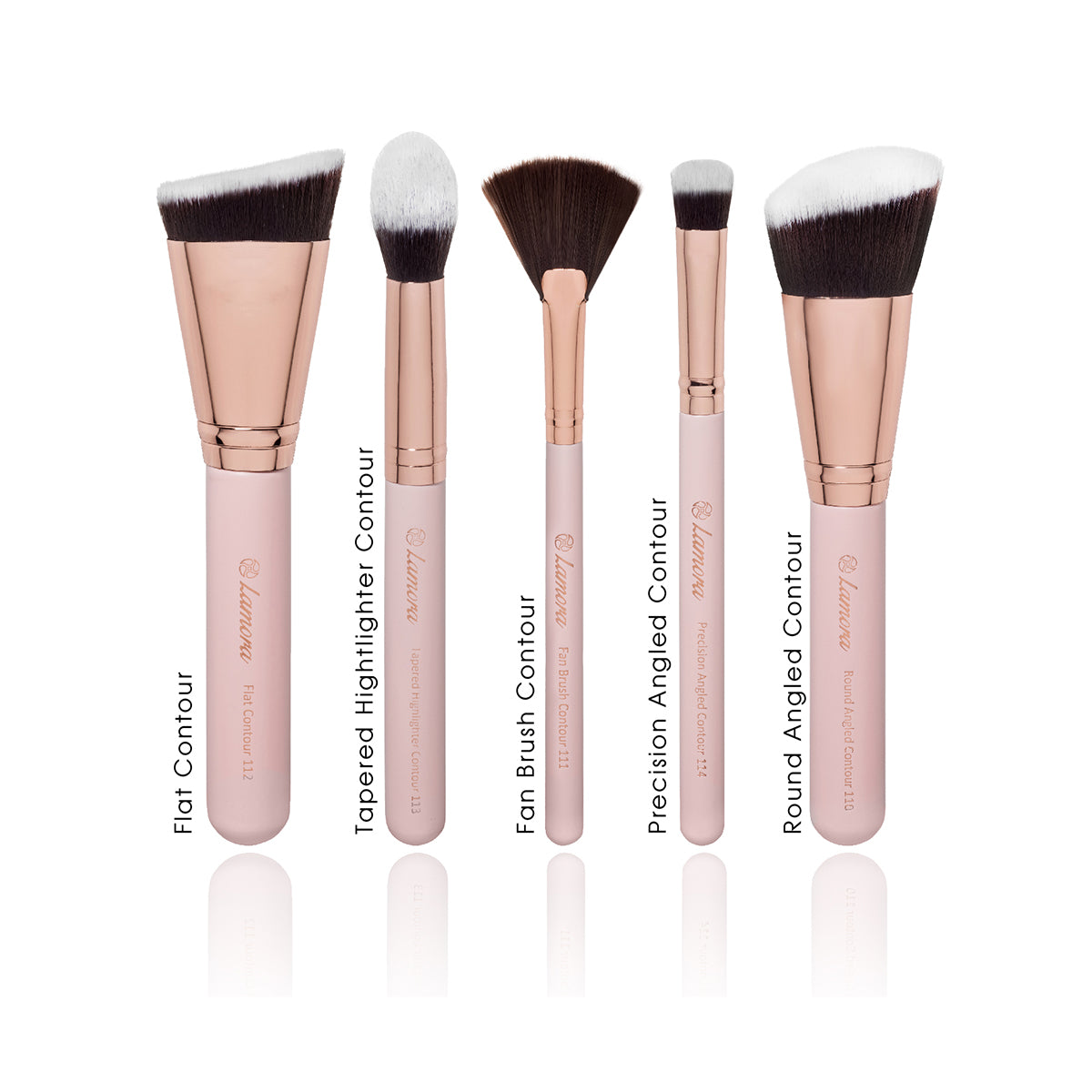 Labeled contour brush set from amazon