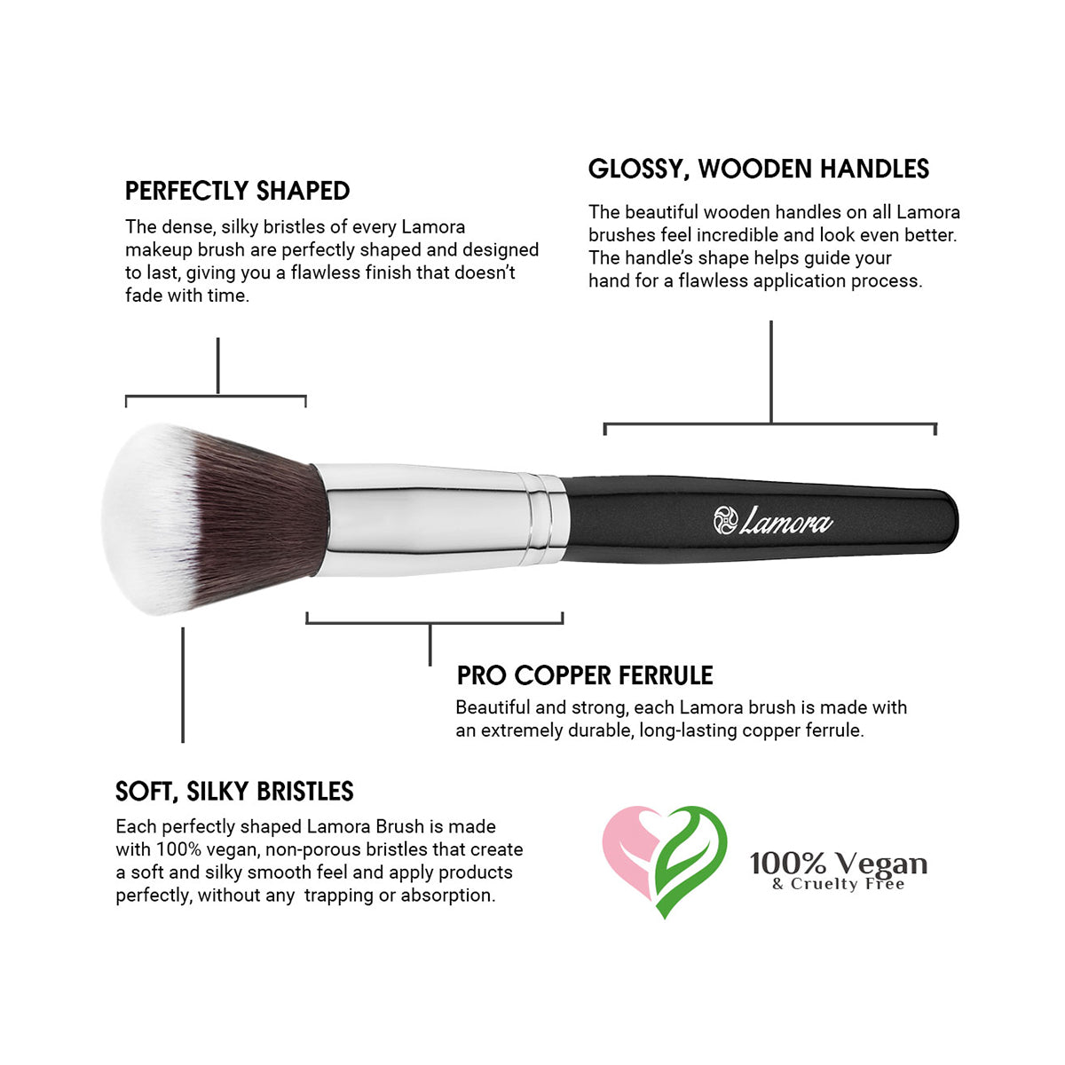 Important features of a quality makeup brush from amazon