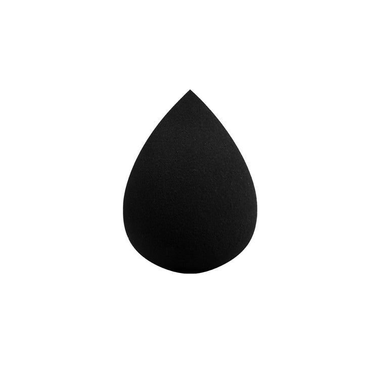 Black Traditional Makeup Application Sponge from Lamora Beauty