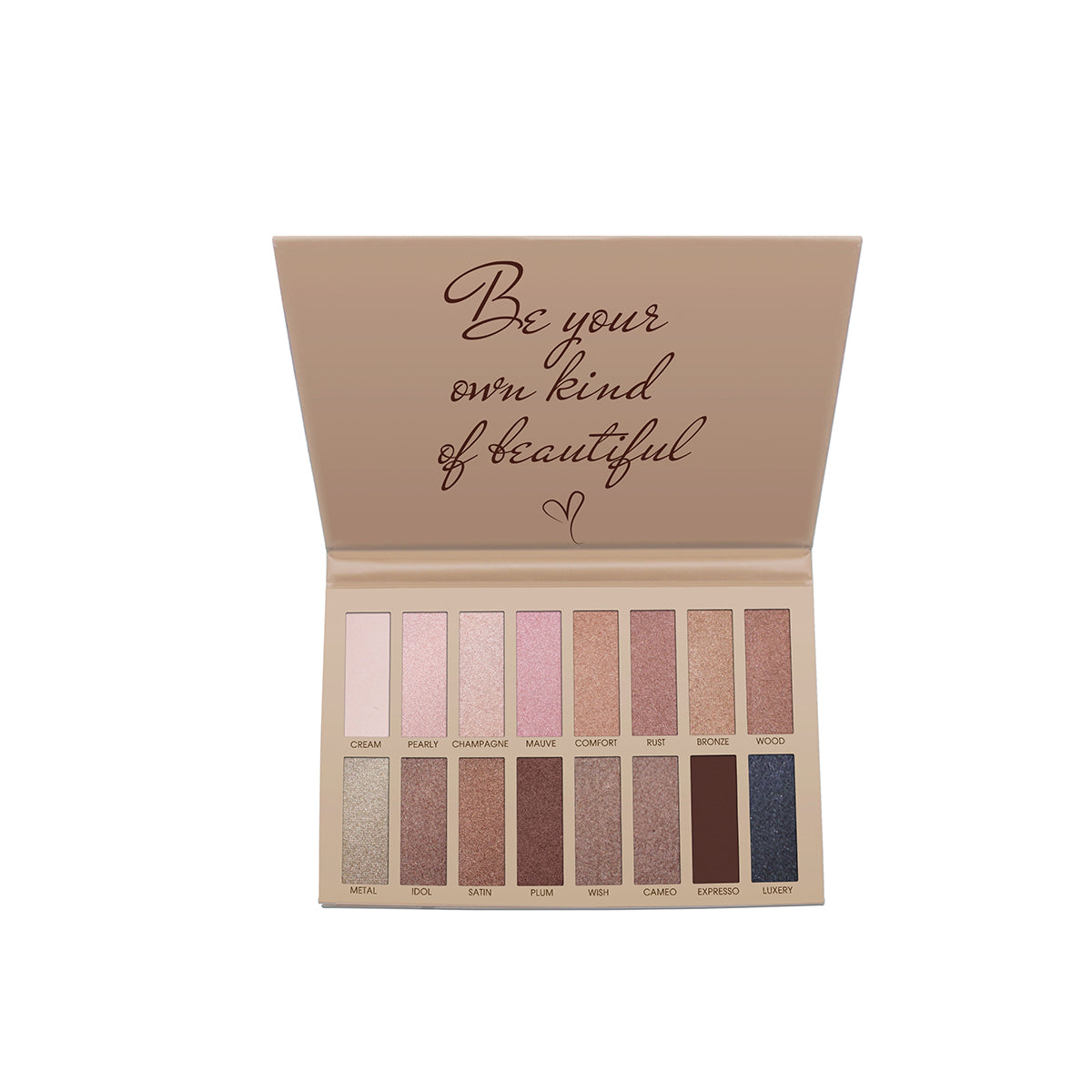 Exposed Eyeshadow Palette from Lamora Beauty
