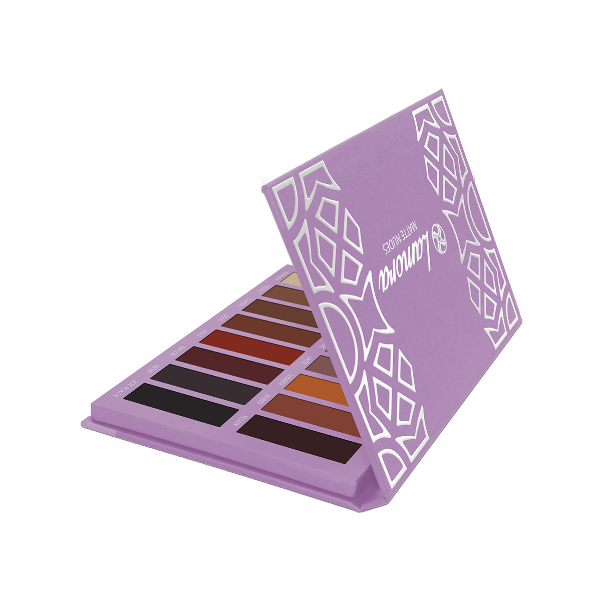 Eyeshadow makeup product box design
