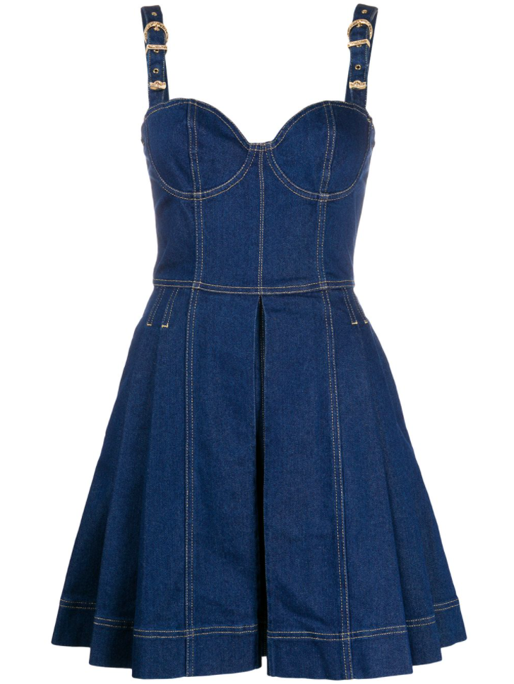 Versace Jeans Couture- The Denim Dress