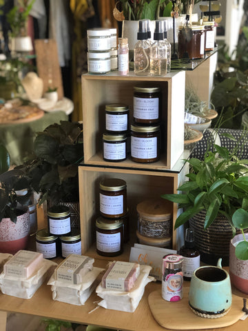 Wick + Bloom Candle Co. at Kiko + Sven in Normal Heights, CA
