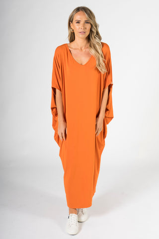 Maxi Miracle Dress in Sunset