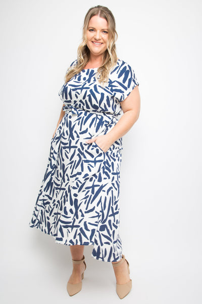 Charm Dress in Sea Splash