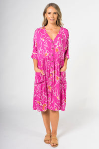Dazzle Dress in Pink Paradise