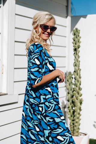 Empress Dress in Ocean Reef