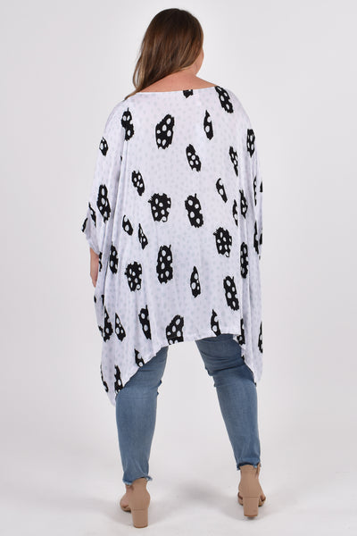 Essential Top in Sea Bubble